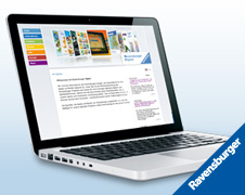 Ravensburger B2B-Website